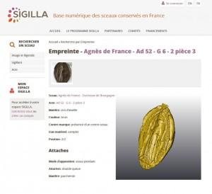 Cliché Ph. Jacquet avec image 3D en jaune
