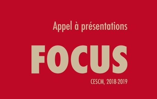 Appel à contributions FOCUS, 2018-2019 : L'étude des images