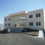 Le nouveau bâtiment de la municipalité de Khiam, tout juste terminé, en septembre 2009