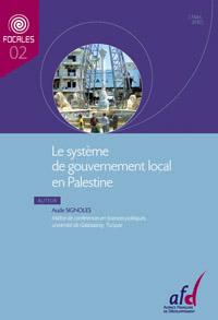 Aude Signoles, Le système de gouvernement local en Palestine