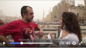 Questions that puzzled the Lebanese