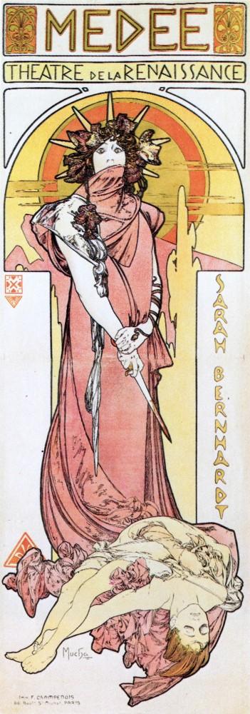Affiche pour Médée