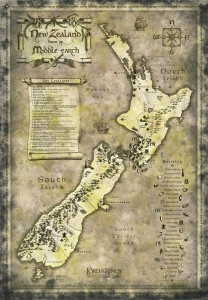 """New Zealand, home of Middle-earth"", from Flickr images, © microcozmo"