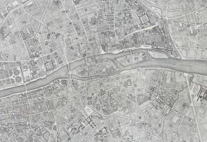 Figure 4: The Jaillot Map of Paris, 1775