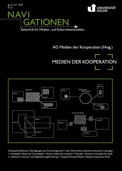 [HINWEIS] mobile media: ←making↑cooperation↓work→ Siegen, 19. bis 21. Juni 2014 | Daten und Netzwerke