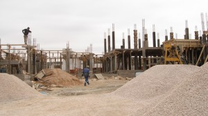 Un chantier en Algérie