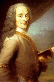 Voltaire, although I'm afraid I don't know the artist