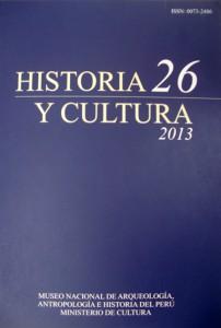 Portada Historia y Cultura