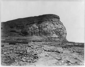 Arica luego del terremoto de 1868