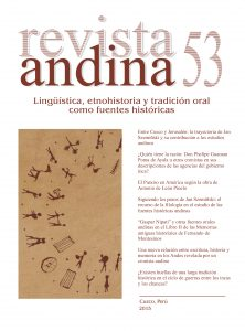 Portada Revista Andina 53