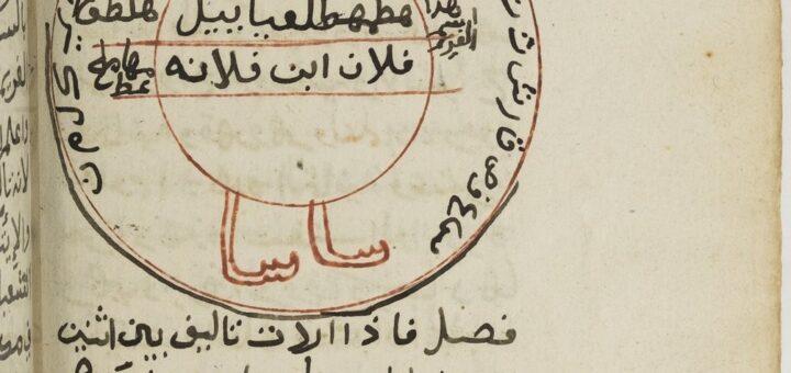 Figure magique du Dāʾirat al-aḥruf al-abǧadiyya