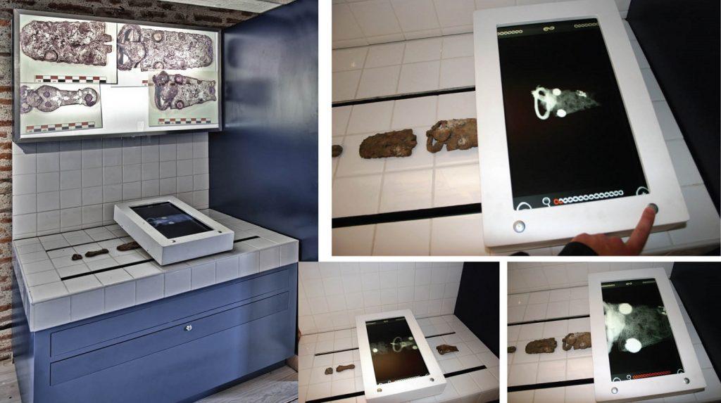 L'Archéoscope, un dispositif à l'usage innovant présenté par Aurélien Vigouroux dans le cadre d'AVE Culture Cliché © AVE Culture.