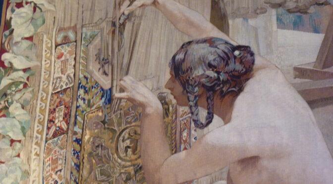 Habiller le mur : les relations entre la tapisserie et la peinture sous la Troisième RépubLIQUE. Le cas des Gobelins (1870-1925)