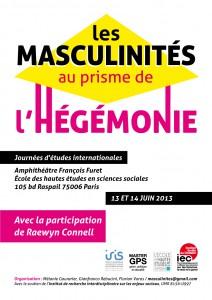 Affiche Masculinités