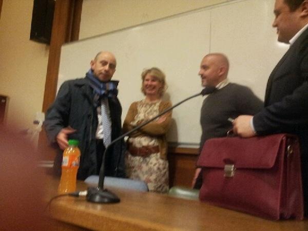 Rencontre avec M. Majdi ABED, conseiller des Affaires Étrangères