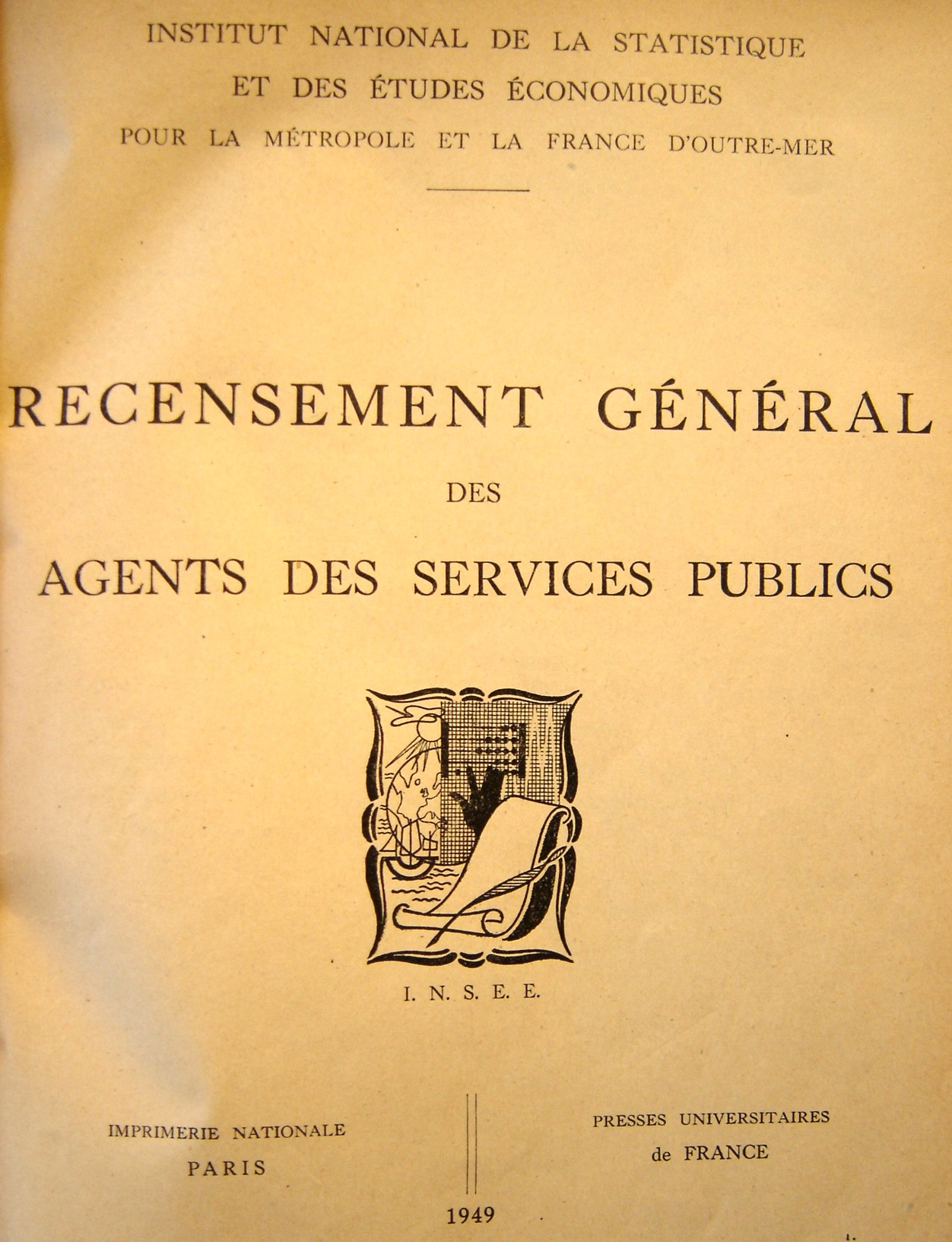 Couverture recensement général
