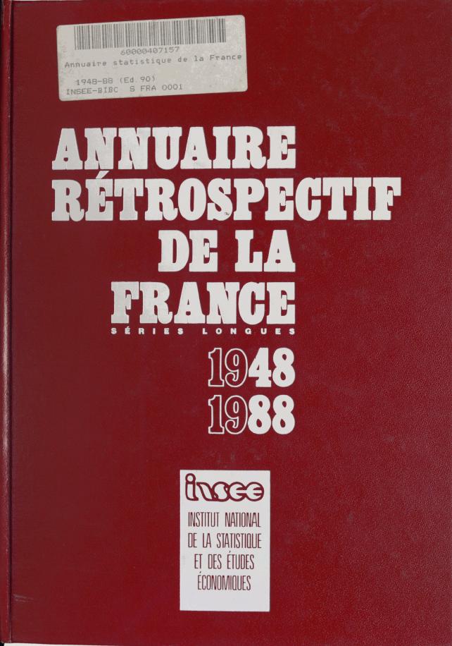 Annuaire 1948-1988
