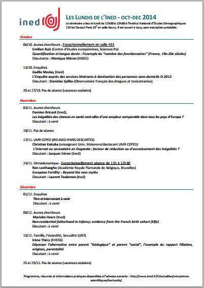 ProgrammeLundisINED-sept-dec2014