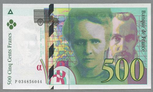 billet de banque e