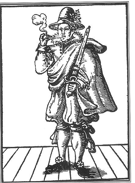 from title page of 'The Roaring Girl', 1611