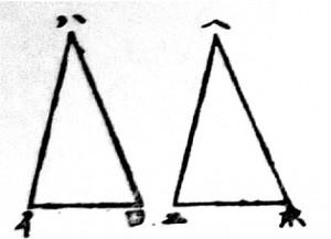 Figure d'un manuel de géométrie de 1874