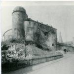 Burg Mylau mit Palas, Außenfront vor dem Umbau, Foto um 1894 (Mus. Burg Mylau).