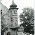Mylau, Brücknerhaus in der Brücknerstraße, Foto um 19... (Mus. Burg Mylau).
