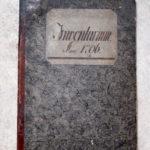 Inventarium der Firma Christian Gotthelf Brückner, 1796 (Mus. Burg Mylau).