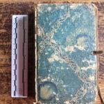 Ältestes Geschäftsbuch der Firma Christian Gotthelf Brückner, dat. ab 24. Juni 1789 (Mus. Burg Mylau).