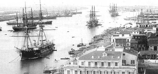 Suez Canal in 1880