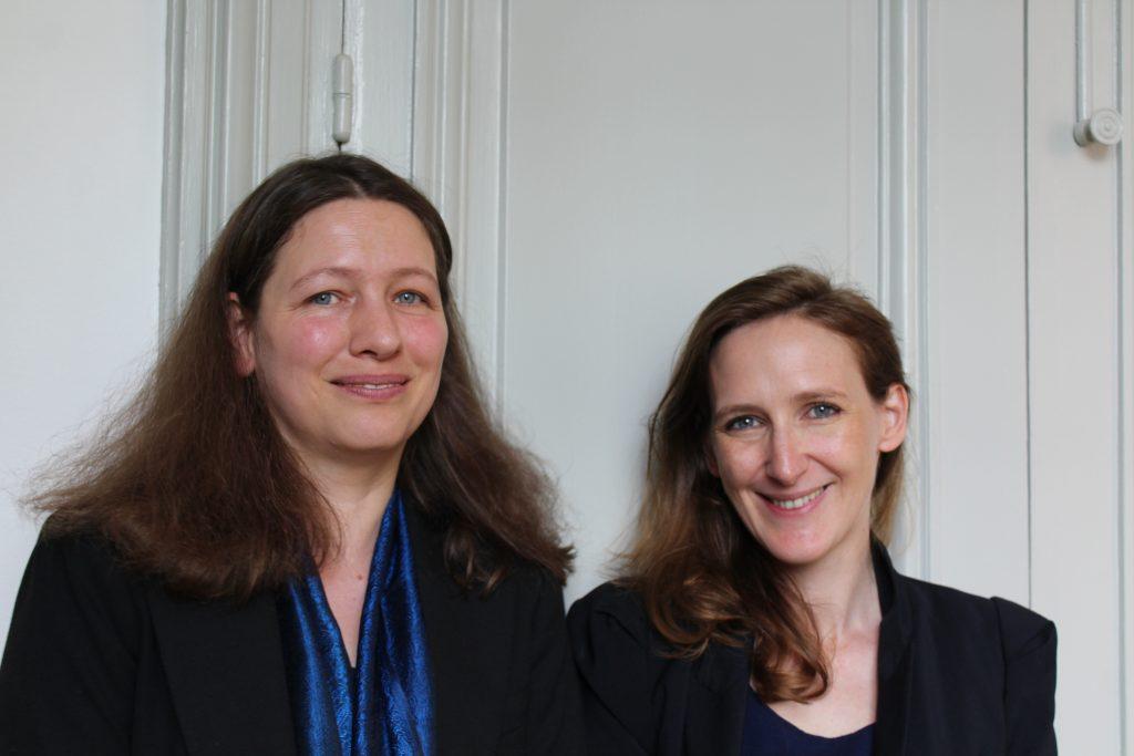 Susann Baller und Séverine Awenengo Dalberto (Foto: @DHI Paris)