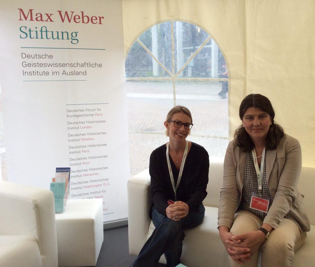 Gesche Schifferdecker (links) und Anette Weinke (rechts)