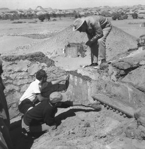 Excavations at Faras, Sudan, 1960s. Photo: National Museum in Warsaw (CC BY-SA 3.0 PL)