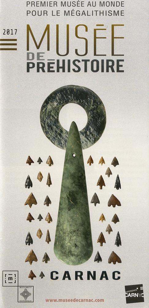 Plaquette du musée de préhistoire de Carnac