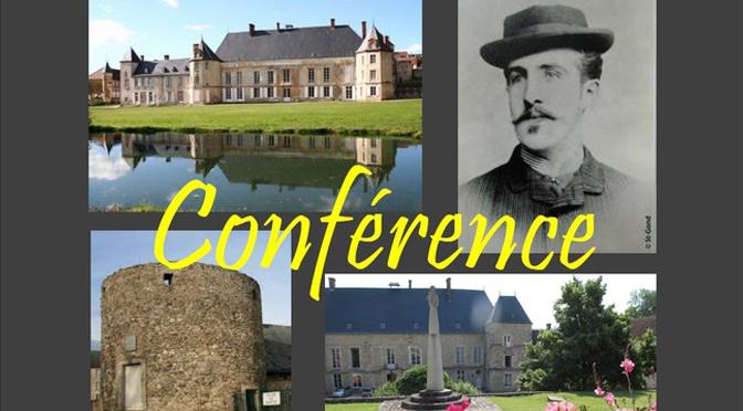 Conférences autour de Joseph de Baye