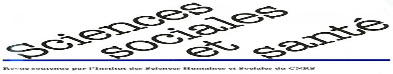 Les carnets de la revue Sciences sociales et santé