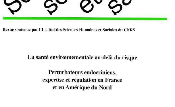 Numéro spécial Perturbateurs endocriniens, expertise et régulation en France et en Amérique du Nord – Volume 34, Numéro 3, sept. 2016