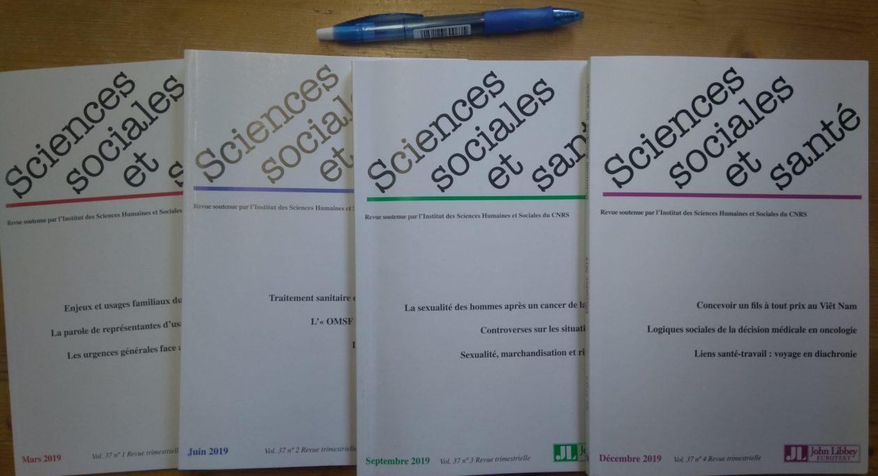 Les carnets de Sciences Sociales et Santé