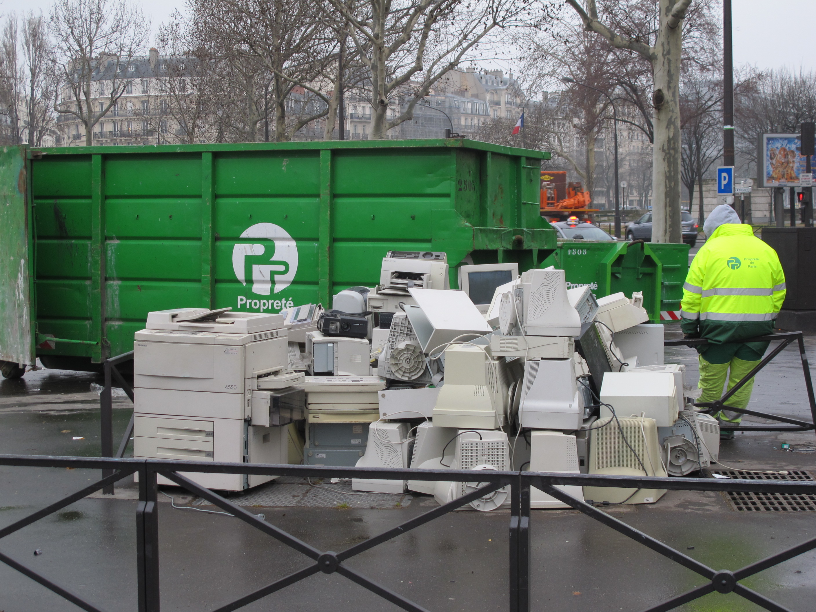 Digital waste management