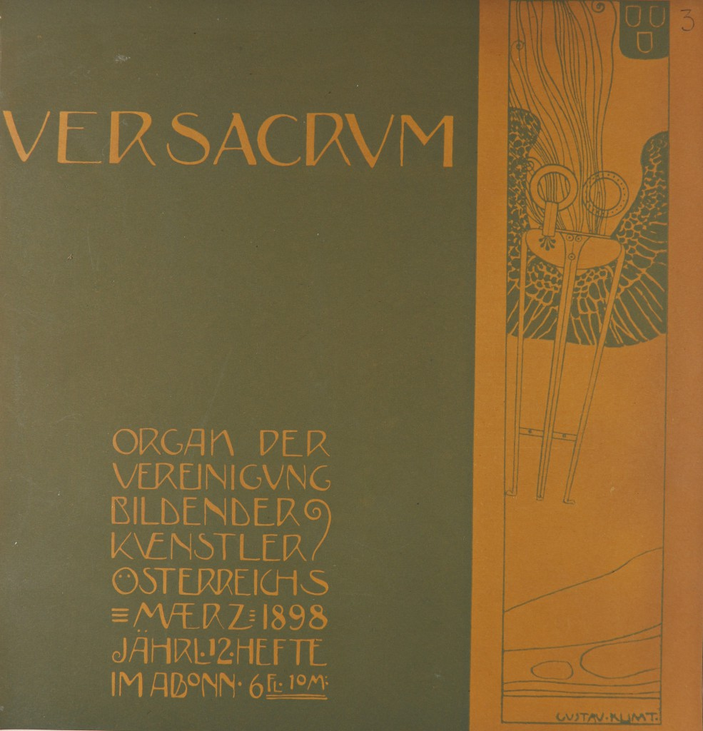 Ver Sacrum, illustration de Gustave Klimt
