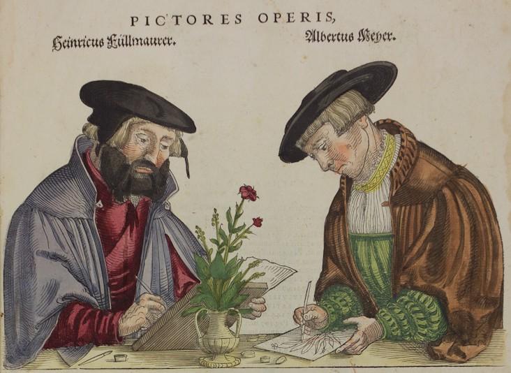 Détail d'une page de De Historia stirpium..., Fuchs (BmN, 100 741)