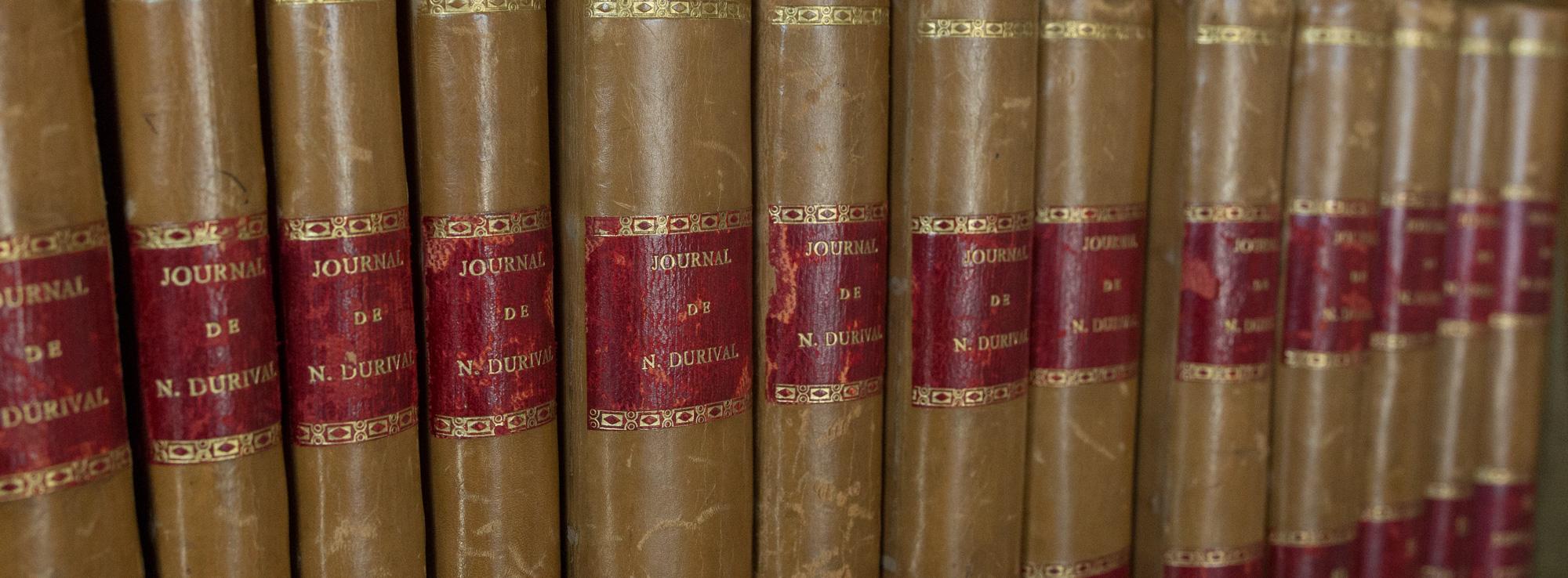 Les 14 volumes du Journal de Durival