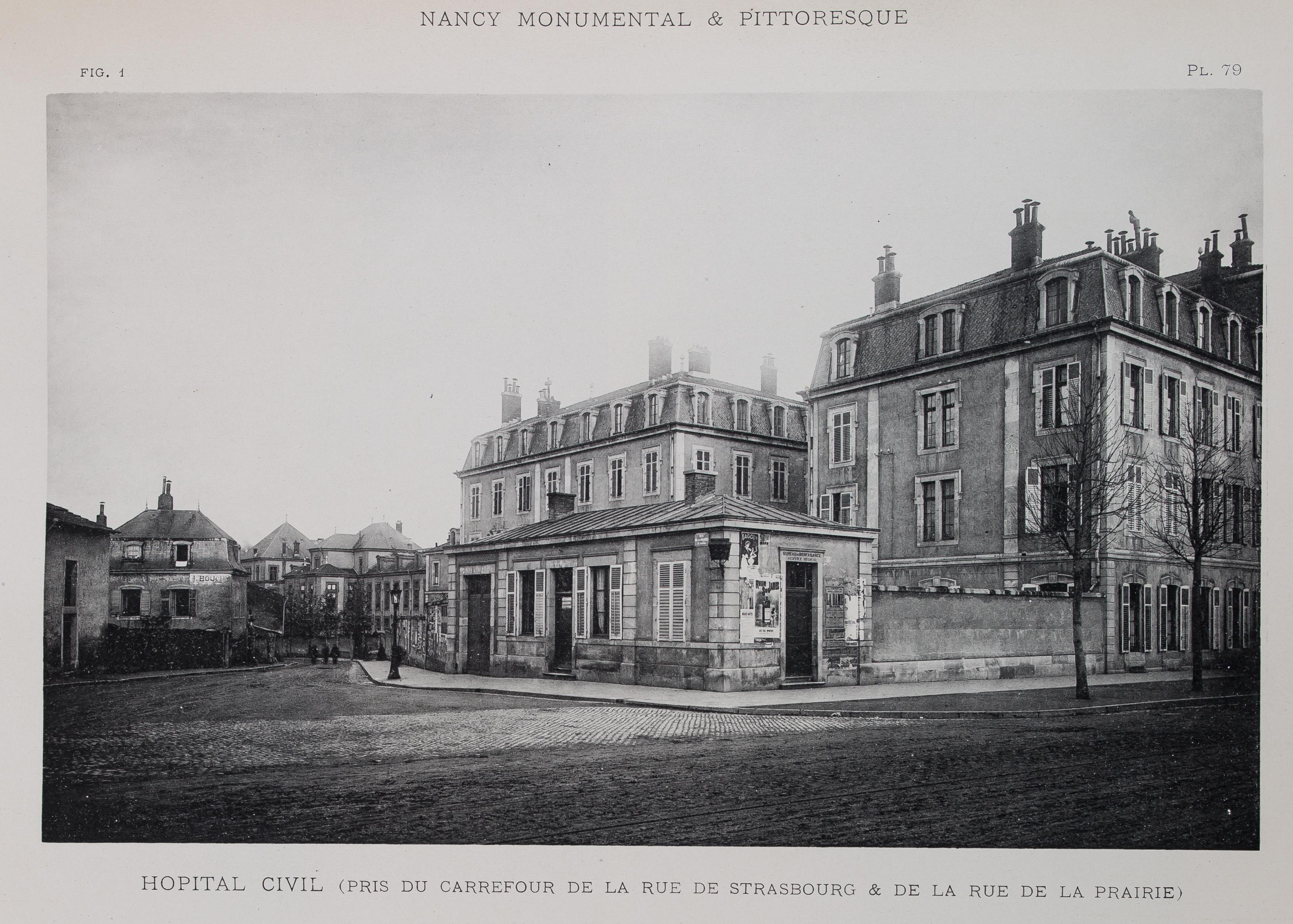 Hôpital civil, Nancy monumental et pittoresque (70 038)