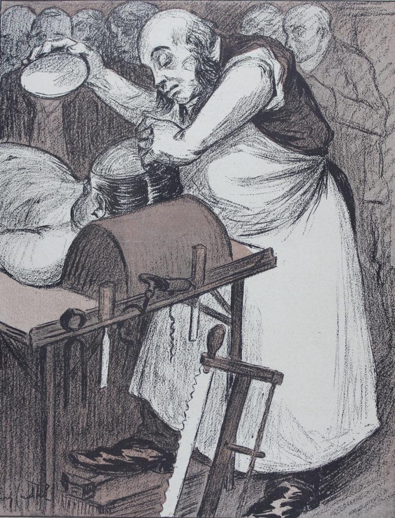 """Illustration extraite de """"l'Assiette au Beurre"""""""