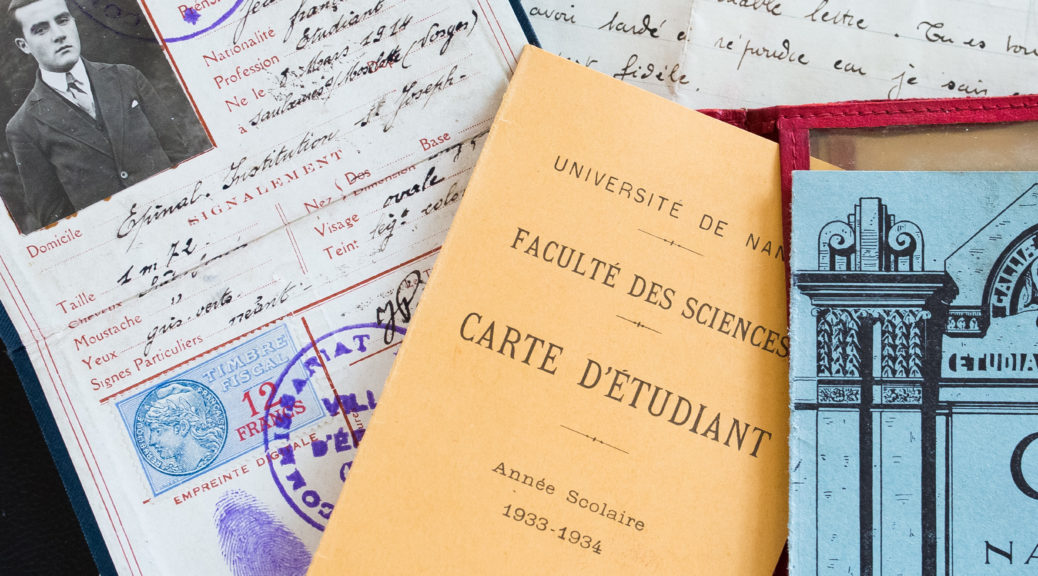 Papiers de Jean Albert Poirot