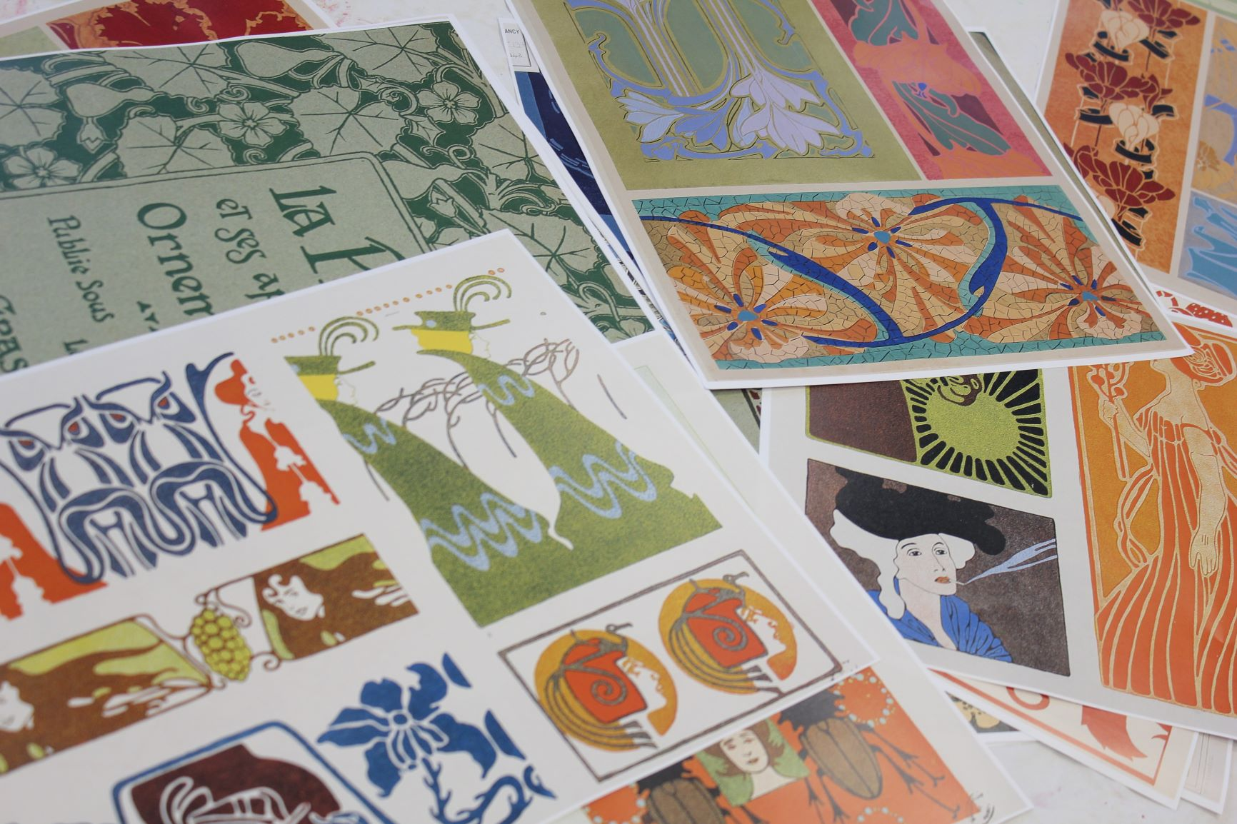 Reproductions de planches d'albums des collections patrimoniales de la bibliothèque Stanislas