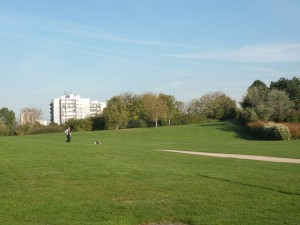 Le parc de la Courneuve