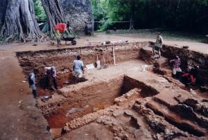 Excavations Great Mosque Gedi