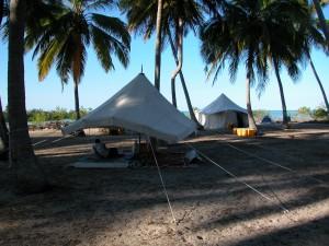 Songo Mnara Peaceful camp