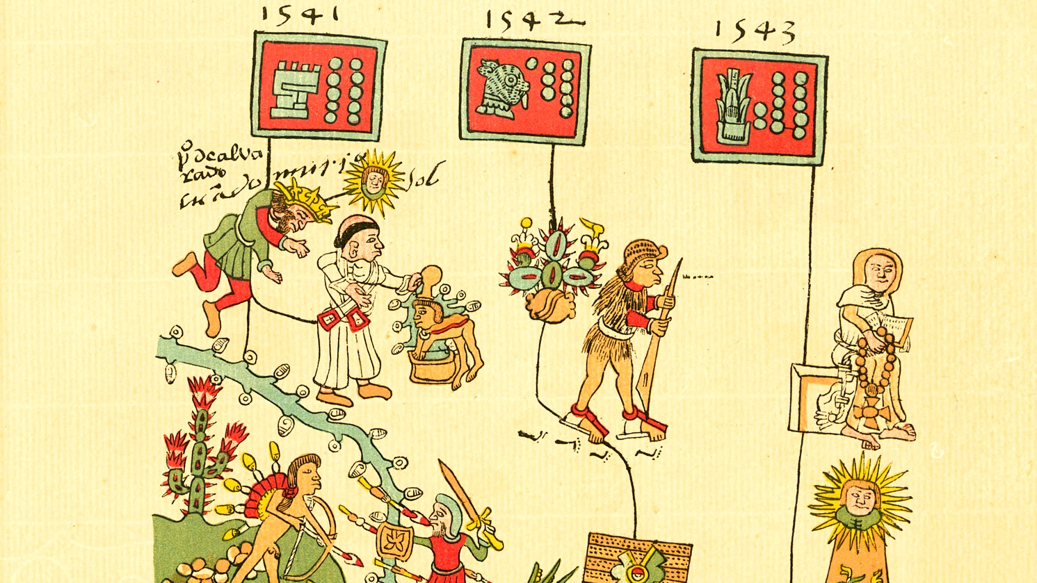 Codex Telleriano-remensis, p. 46r.